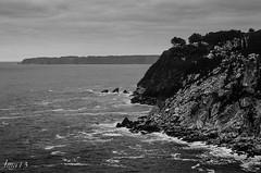15 01 09 15 01 09 DSCF2670 (jmacirez13) Tags: espaa paisajes blancoynegro mar asturias paisaje luarca acantilado norte monocromtico asturianismo