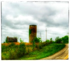 Just around the bend... (Sherrianne100) Tags: rural landscape farm silo missouri ozarks dilapidated awardtree