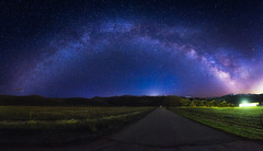 A Long Time Ago in a Galaxy Not So Far Away (Ryan Moyer) Tags: sky panorama color night landscape nightscape astro astrophotography milkyway