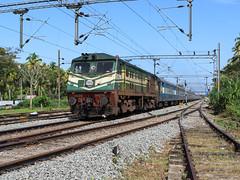 H Nizamuddin Trivandrum Weekly superfast (Akhil Sanjeev) Tags: railroad rail alco indianrailways railfanning wdp3a turavur