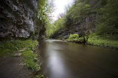 Chee Dale (Michael Hopwood) Tags: park england water beautiful landscape spring dale district peak national valley chee chasm