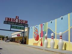 Bird Bowl Bowling Center (rutiful) Tags: bird sign vintage alley miami arcade center bowl retro bowling billiards bowlingpins birdbowl birdroad