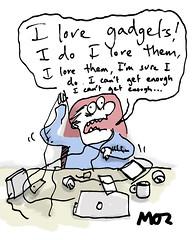 Gadgets (Moz the Cartoonist) Tags: uk cartoon moz cartoonist