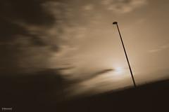 The Orange Piers (K.Marinovi - Artist) Tags: summer sky art silhouette clouds photoshop wonderful landscape photography photo nice movement nikon long exposure artist outdoor piers fine editing karlo lightroom prange marinovic