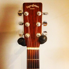 Head's up! (Pennan_Brae) Tags: guitar acousticguitar acoustic headstock music musicstudio musicalinstrument