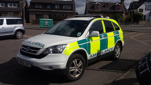 SN62 CHY HONDA CR-V ICDTI SCOTTISH AMBULANCE SERVICE
