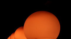 Sun(s)? (ri Sa) Tags: black background lamps