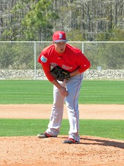 2016 Red Sox Spring Training - Workouts (murphman61) Tags: boston spring baseball florida redsox taz fl practice mound pitcher ftmyers throwing springtraining leecounty mlb fortmyers majorleague workouts