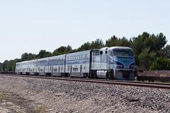 Amtrak No. 463 (jbp274) Tags: railroad trains amtrak locomotive fullerton surfliner emd f59phi