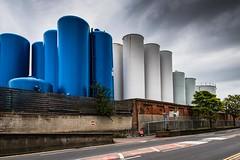 Tank Land (Number Johnny 5) Tags: urban nikon industrial tank rusty storage silo d750 tamron gorleston 2470mm grot