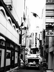 Street Fragments #196 - Shinjuku Labyrinth (Yoshi T. (kagirohi)) Tags: japan japanese tokyo shinjuku goldangai blackwhite bw street streetphotograph streetphotography alley fragment urban city cityscape snapshot night nightview ricoh gr ricohgr                   blackandwhite monochrome depthoffield