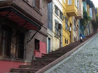 Street stairs