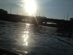 (kam_ikadze) Tags: bridge sunset river russia ekaterinburg      citycenrte