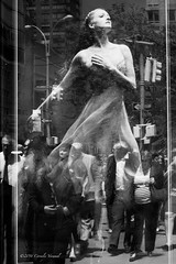 The Spirit of the Arts (CVerwaal) Tags: nyc blackandwhite ballet usa ny newyork reflections lincolncenter nycballet olympusem5 mzuiko25mmf18