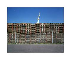 pile (ha*voc) Tags: urban film mediumformat industrial rangefinder 6x7 220 urbanfragments 65mm fujinps160 mamiya7ii urbanabstraction industrialfragments