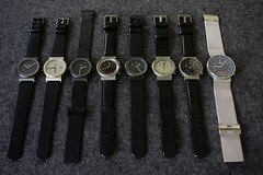 Braun watches AW 50T,AW 50P,AW 60,AW 60T,AW 60S,AW 70,AW 75,AW 200 (revelinyourtime) Tags: design watches collection braun timepieces saat collector industrialdesign lessismore zaman armbanduhr formfollowsfunction germandesign dietrichlubs vintagewatches braundesign thanksdieter