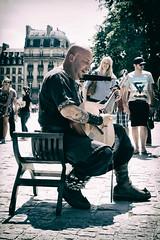 Parvis de Notre Dame de Paris - 17/07/2014