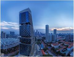 South Beach Residences (musicexpression) Tags: panorama beach hotel singapore south cbd sg raffles padang residences