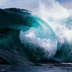 Chaos (David Field (Sydney)) Tags: ocean travel blue sea seascape storm nature water contrast canon surf mood chaos power tube barrel wave australia nsw shallow heavy waveart