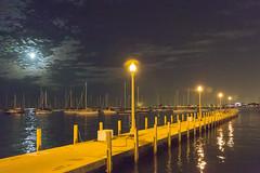 0420 Lake Shore Drive (TWITA2005) Tags: chicago illinois unitedstates pier night moon lakeshoredrive