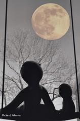Soir de pleine lune... / At full moon... (Pentax_clic) Tags: moon robert lune juin pentax warren raymond kr sculptur 2016 pleine sculpturs imgp9912