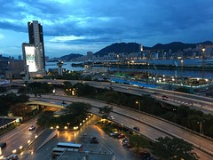 Kowloon Bay Dusk (timlam18) Tags: china urban hongkong asia kowloon iphone kowloonbay 6s megabox iphoneography