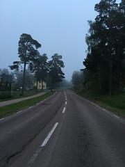 Empty road on Aland Islands (f_delirium) Tags: road islands empty smoke aland