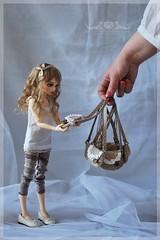RRD's Sweet Cookie Bags (Red Ribboned Dolls) Tags: miniatures doll redribbon 14 chloe bjd bags fairyland abjd auri msd mnf minifee redribboneddolls sweetcookiebags