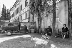 Eine kleine Pause, La Foce (Wolfgang.Grilz) Tags: tuscany siena montalcino montepulciano toscana valdorcia toskana sanquirino cretesenese 2016unesco