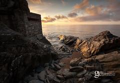 Pillbox Sunrise (GraemeKelly) Tags: light sea seascape sunrise landscape photography landscapes south devon graeme pillbox hams torcross graemekellyphotography