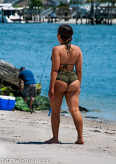 NewWorldWoman-9(NY) (bigbuddy1988) Tags: new nyc blue summer portrait people woman usa ny newyork art beach water beautiful beauty wow nikon legs butt swimsuit d300 nikond300