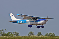 """G-BMMK Cessna 182P Lambley Flying Group Sturgate Fly In 05-06-16 (PlanecrazyUK) Tags: sturgate egcs """"fly in"""" 050616 """"lincoln aero club ltd"""" gbmmk cessna182p lambleyflyinggroup fly in"""