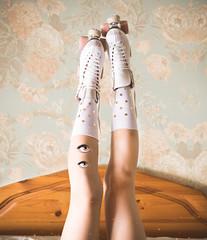 (AnnTheGinger) Tags: feet socks eyes legs dream unreal rollerskate