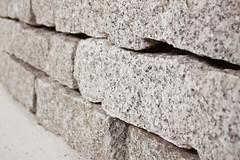 Granit-Mauerstein