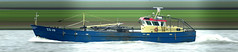 ZZ 10 De vier gebroeders (Morthole) Tags: slitscan ship boat schip boot barge binnenvaart schiff rheinschiff bulk vrachtschip