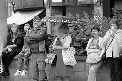 Rotherham Vintage Hop June 2016 (1) (Chris.,) Tags: blackandwhite bw canon blackwhite dance war song military crowd 1940s 1950s creativecommons hiphop polkadot rotherham homeguard allsaintssquare vintagehop queens90thbirthdaycelebration