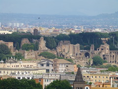 Baths of Caracalla from Gianicolo Hill, Rome (bruvvaleeluv) Tags: italy rome roma hill baths gianicolo caracalla janiculum