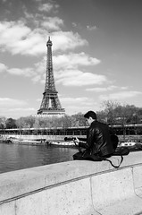(Tom Plevnik) Tags: street new city travel people urban blackandwhite paris public monochrome landscape photography nikon flickr outdoor candid places human bnw