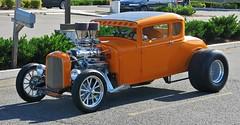 "Ford Model A 5-Window Coupe ""Hot Rod"" (Custom_Cab) Tags: street orange hot ford window car 1932 1931 model 5 rod custom 1928 coupe deuce v8 1929 1930 kustom 5window a"