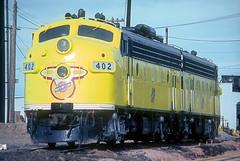 C&NW F7 402 (Chuck Zeiler) Tags: railroad locomotive 402 chz f7 emd cnw