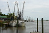 Shrimp boats in Darien, Georgia (Jimmie Fisher) Tags: altamahariver dariengeorgia shrimpboats