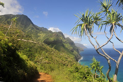 Kalalau Trail View (Anders Magnusson) Tags: hawaii hike trail kauai kalalau kalalautrail andersmagnusson
