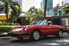 Alfa Romeo Spider Graduate (Justin Young Photography) Tags: cars spider philippines manila graduate alfaromeo