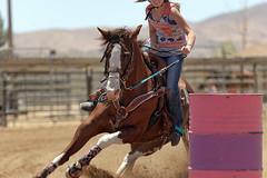 You Go Girl! (Tackshots) Tags: horse riding cowgirl barrelracing ca18 nbha
