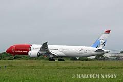 B787-9 EI-LNJ NORWEGIAN LONG HAUL (shanairpic) Tags: jetairliner b787 boeing787 dreamliner irish norwegian eilnj