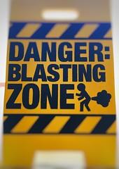172/366. Happy Fathers Day. (dazmo862) Tags: love yellow warning dad joke son card fart trump hazard guff bottomburp