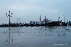 Hochwasser in Venedig (petrastarosky) Tags: italien urlaub venedig hochwasser sangiorgiomaggiore markusplatz 2016 gondeln