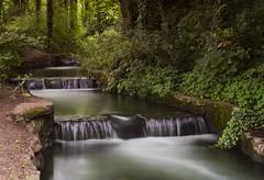 Waterfall long exposure (alsib) Tags: verulamiumpark longexposure filters trees flowingwater waterblurred