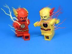 The Reverse Flash Emerges (MrKjito) Tags: speed comics dc comic force power lego zoom flash negative superhero minifig reverse professor custom minifg eobard thawne