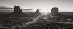 Wild Wild West (Eduard Moldoveanu Photography) Tags: america canyon desert huntsmesa monumentvalley nationalparks navajo panoramicview park sand usa utah american arizona bw blackwhite blackandwhite butte clouds famous horizon indian land landscape mesa mitten mittens monument native nature ontheroad outdoors panorama red remote rock sandstone scenery scenic sky solitude southwest stone travel tribal valley west western wild